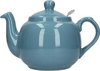 Dexam London Pottery 4 杯农舍过滤器茶壶 水绿色 17273402