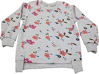 LOSORN ZPY 幼童女婴毛衣棉质儿童长袖花朵套头上衣