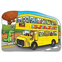 Orchard Toys 积木拼图 小号巴士(亚马逊进口直采,英国品牌)