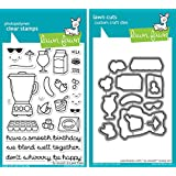 Lawn Fawn So Smooth Stamp and Die Set - Two item Bundle