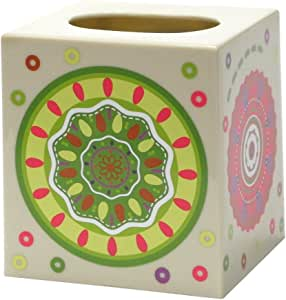 Allure Home Creations Festiva Printed Plastic Tissue Box