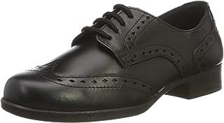 Term 女童 Meghan 皮革粗革皮鞋
