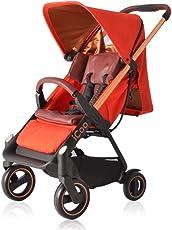 德国品牌 hauck 婴儿推车-Icoo橙色(免安装/可上飞机)(亚马逊自营商品,由供应商配送)