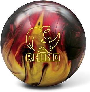 Brunswick Rhino 活性预钻保龄球 - 红色/黑色/金色珍珠 Red/Black/Gold Pearl 10