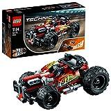 LEGO 乐高  拼插类 玩具  Technic 机械组系列 高速赛车-火力猛攻 42073 7-14岁