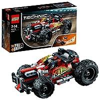 【NEW 上新 1月新品】 LEGO 乐高 拼插类玩具 Technic 机械组系列 高速赛车-火力猛攻 42073 7-14岁 积木玩具