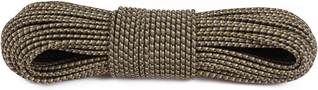 Atwood Rope MFG 聚酯纤维减震绳 - 1.59 cm,150磅测试 - 无挂钩 - 25、127、304.8 m   摩托车配件,露营必备品