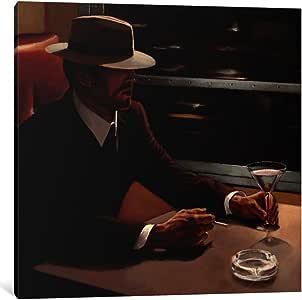 "iCanvasART 1 件 Dry Martini Crop I 帆布画 Myles Sullivan 出品 26"" x 26"" WAC1799-1PC3-26x26"
