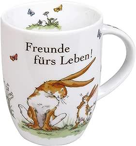 Könitz 1151030776 咖啡杯,陶瓷,多色,12.0 x 8.0 x 10.3厘米