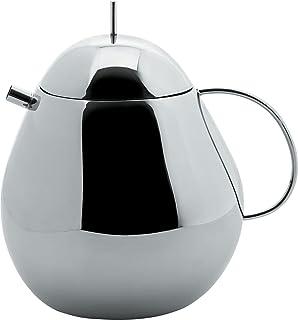 Alessi FRUIT BASKET 茶壶 抛光不锈钢,3.2 x 15.5 x 6厘米