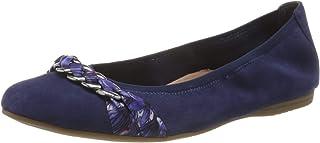 Tamaris 女士1-1-22104-24 皮革包闭芭蕾舞鞋