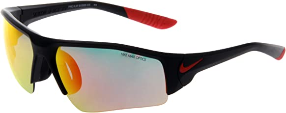 Nike 耐克 太阳镜男女运动户外墨镜跑步防紫外线风镜驾驶镜司机镜墨镜骑行眼镜EV0898-006 006黑框红片 75