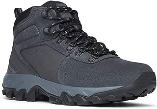 Columbia 男士 Newton Ridge Plus Ii 麂皮防水寬徒步鞋