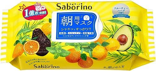 SaborinoBCL早安懒人面膜 60秒醒肤经典款 32片/盒 (日本品牌)