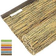 瑜伽垫厚瑜伽垫厚瑜伽垫热瑜伽 * 纯棉地毯 60.96 厘米 x 182.88 厘米 7 种颜色