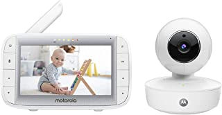 Motorola mbp50婴儿监视器,大25英寸全彩色弧形父展示单位