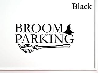Vinylsay Parking 万圣节墙贴 亮黑色 33-Inch x 16.5-Inch 5566804