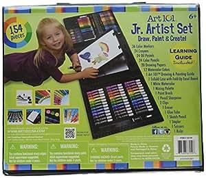 Art 101 儿童154件三折画架艺术套装
