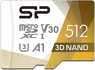 Silicon Power microSD 卡 2019年模型 【Amazon.co.jp限定】SP512GBSTXDU3V20AB 512GB