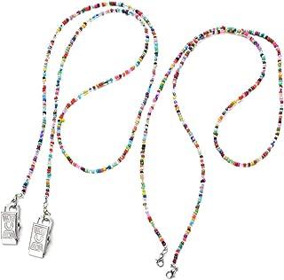 WWBGINF 面罩挂绳可调节长度链带面罩支架延长器方便*2/5/10/11件,适合成人,儿童