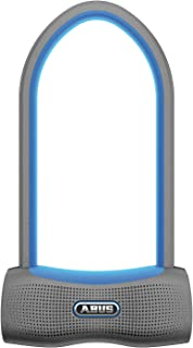 ABUS 钢圈锁 770A SmartX 自行车锁带蓝牙和报警(100db) - 智能手机 iOS & Android - *级别 15