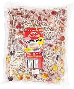 YumEarth棒棒糖 5磅/包(约2.27千克/包)