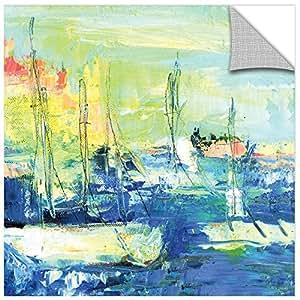 "Tremont Hill Pamela J. Wingard""Abstract II""画廊包边帆布,14X14"