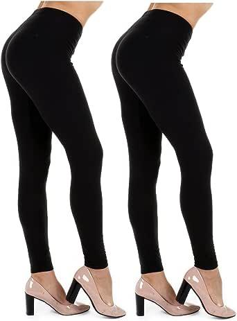今天 showroom 女式打底裤 ( 2PK 黑色 / 黑色