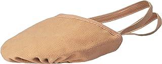 Bloch Dance 女士 Eclipse 帆布现代芭蕾鞋 肤色 X-Large/9.5-11 M US
