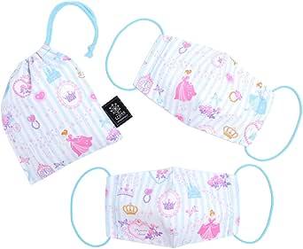 COLORFUL CANDY STYLE 儿童用口罩(2件装 带盒子)公主装 多彩的化妆室 (条纹)N5316800