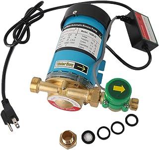 SHYLIYU 115V/60HZ 120W 3/4 英寸(约 1.9 厘米)出口家用水压增压泵 自动淋浴增压泵 带水流开关 适用于整个家庭淋浴系统