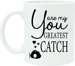 I Just Wanna Sip Coffee And Pet My Dogs 趣味印花报价白色咖啡茶杯带免费礼品盒 White (Design7) 11 盎司 MUGP-149