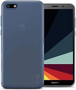 CoverON [FlexGuard 系列] 华为 Y5 Prime 2018 手机壳,华为 Y5 2018 手机壳,纤薄 TPU 手机壳带防滑手柄和角落减震垫 适用于华为 Y5 Prime 2018 / Y5 2018 透明
