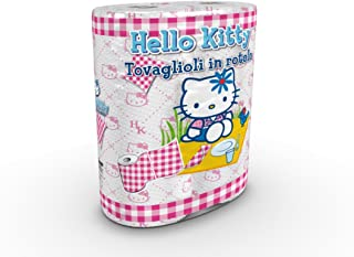 World Cart SRL – Hello Kitty – 卷餐巾 – 2 卷 2 层 – 印花 – 2