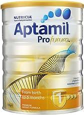 Aptamil 澳洲爱他美 Profutura 白金版婴幼儿奶粉1段900g (0-6个月) 包邮包税【跨境自营】