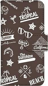 智能手机壳 手册式 对应全部机型 印刷手册 cw-186top 套 手册 海滩男孩 UV印刷 壳WN-PR255109-MX Motorola Moto G (3rd Gen.) XT1541 B款