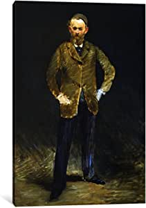 iCanvasART 8028-1PC6 The Self Portrait Canvas Print by Edouard Manet, 1.5 by 18 by 12-Inch