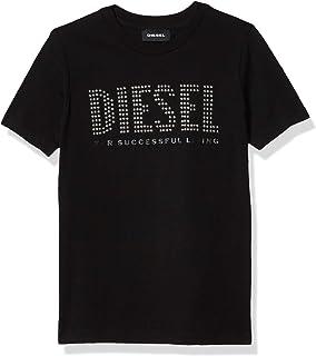 Diesel 男童大短袖 T 恤