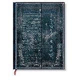 Paperblanks 装饰原图系列笔记本手稿本 圣-埃克苏佩里 人造皮革 空白 大号无衬里