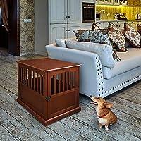 Casual Home 宠物箱挂桌 - 胡桃木