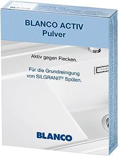 BLANCO 铂浪高 Activ 清洁粉末 用于 SILGRANIT 水槽基础清洁 3 件装 520784