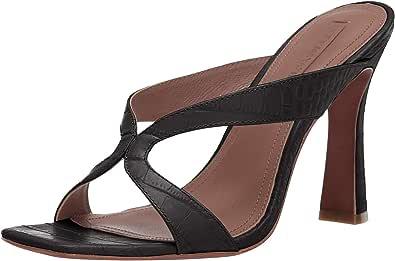 BCBGMAXAZRIA 女式 INES 细高跟凉鞋 黑色 7 M US