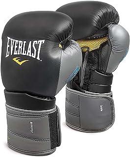 Everlast 111401XLGL Protex3 凝胶钩环手套黑色 14 0Z