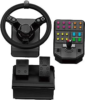 Logitech 945-000062 G Saitek 农场 Sim 控制器 - 黑色