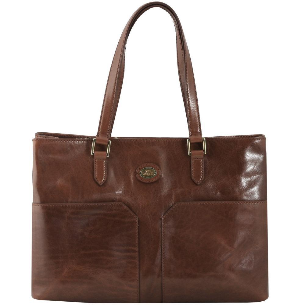 ブリッジスポーツバッグの女性がハンドバッグボルサAスパッラセンチ38(ブラウン)04714301から14