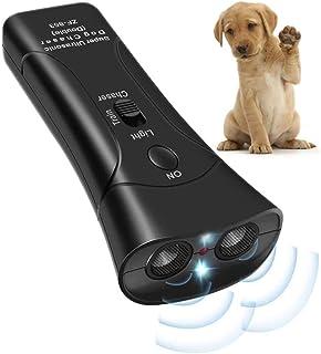 Green Turks - 狗狗驱赶器和训练器,带LED手电筒的狗驱赶设备,狗狗良好的行为训练,*遛狗户外,手持狗狗驱赶器和训练器,吠叫开始
