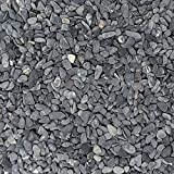 Midwest Hearth 天然装饰灰色豆卵石 0.635 cm 尺寸 5-lb Bag 灰色