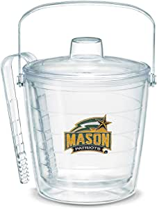 Tervis 1053378 George Mason University Emblem Individually Boxed Ice Bucket, 87 oz, Clear