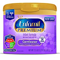 Enfamil 美赞臣 优质非转基因婴儿配方奶粉 Powder 21.5 oz (Pack of 4)
