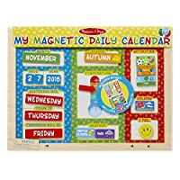 Melissa & Doug My First Daily 磁性日历